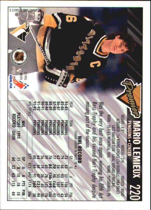 1993-94-Topps-Premier-Hk-s-1-250-Rookies-You-Pick-Buy-10-cards-FREE-SHIP thumbnail 413