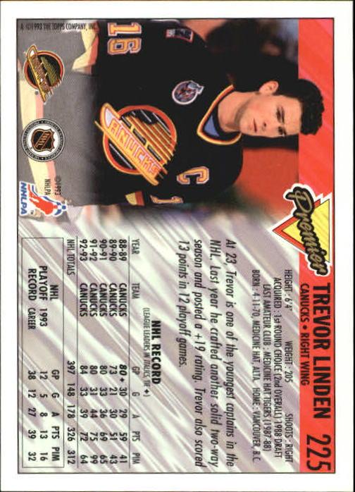 1993-94-Topps-Premier-Hk-s-1-250-Rookies-You-Pick-Buy-10-cards-FREE-SHIP thumbnail 422