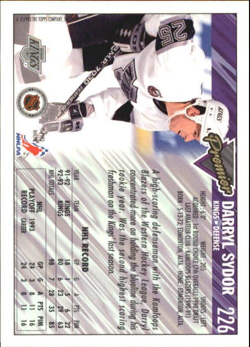 1993-94-Topps-Premier-Hk-s-1-250-Rookies-You-Pick-Buy-10-cards-FREE-SHIP thumbnail 424