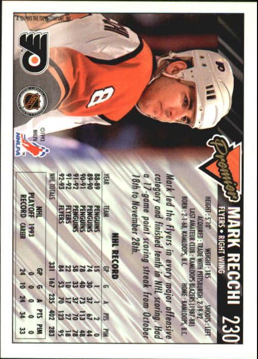 1993-94-Topps-Premier-Hk-s-1-250-Rookies-You-Pick-Buy-10-cards-FREE-SHIP thumbnail 430