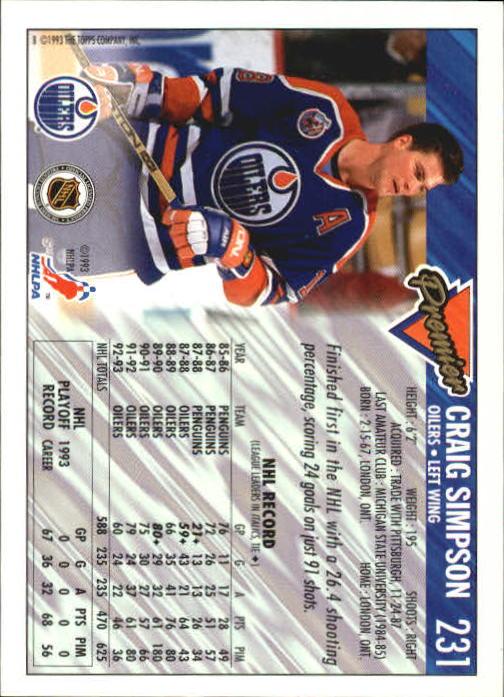 1993-94-Topps-Premier-Hk-s-1-250-Rookies-You-Pick-Buy-10-cards-FREE-SHIP thumbnail 432