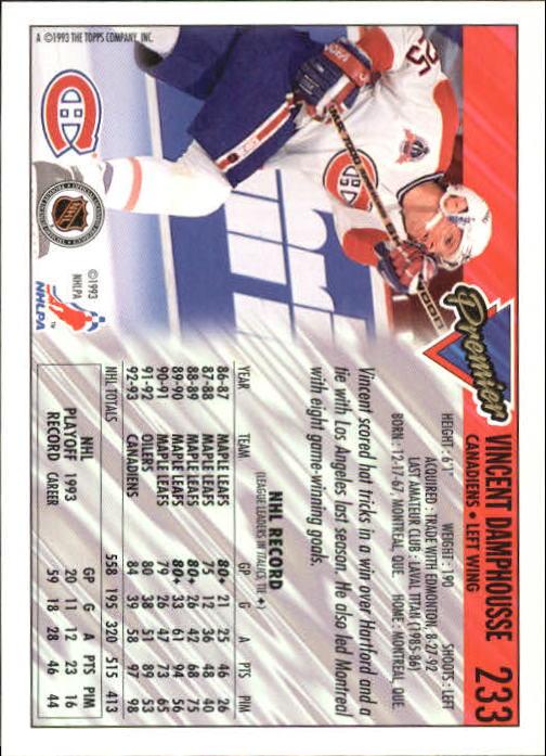 1993-94-Topps-Premier-Hk-s-1-250-Rookies-You-Pick-Buy-10-cards-FREE-SHIP thumbnail 435