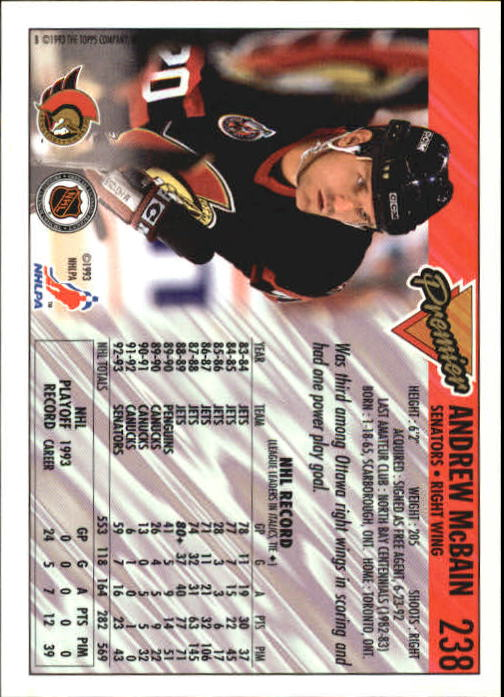 1993-94-Topps-Premier-Hk-s-1-250-Rookies-You-Pick-Buy-10-cards-FREE-SHIP thumbnail 443