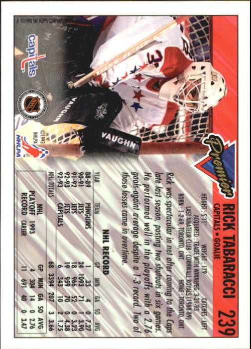 1993-94-Topps-Premier-Hk-s-1-250-Rookies-You-Pick-Buy-10-cards-FREE-SHIP thumbnail 445