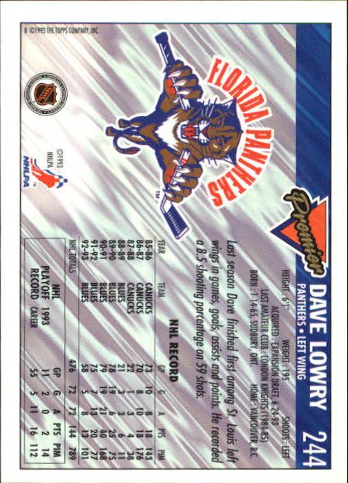 1993-94-Topps-Premier-Hk-s-1-250-Rookies-You-Pick-Buy-10-cards-FREE-SHIP thumbnail 453