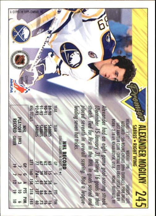 1993-94-Topps-Premier-Hk-s-1-250-Rookies-You-Pick-Buy-10-cards-FREE-SHIP thumbnail 455