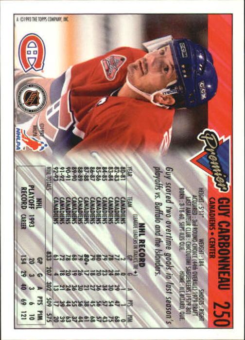 1993-94-Topps-Premier-Hk-s-1-250-Rookies-You-Pick-Buy-10-cards-FREE-SHIP thumbnail 463