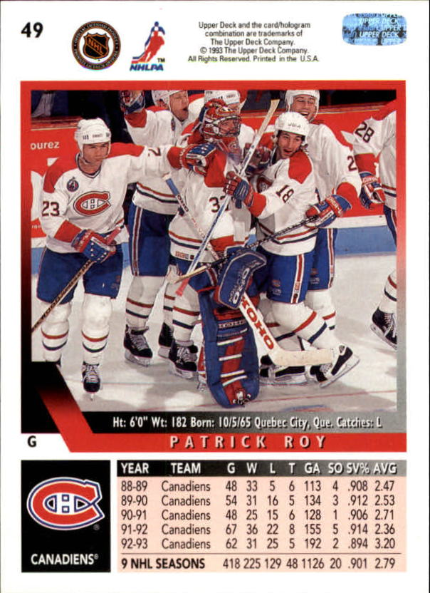 1993-94-Upper-Deck-Hk-039-s-1-250-Rookies-You-Pick-Buy-10-cards-FREE-SHIP thumbnail 47
