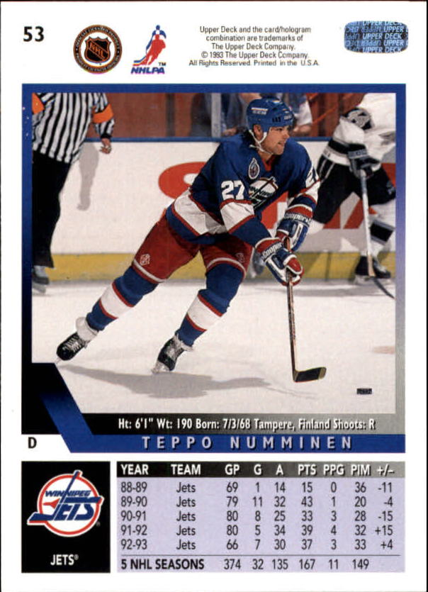 1993-94-Upper-Deck-Hk-039-s-1-250-Rookies-You-Pick-Buy-10-cards-FREE-SHIP thumbnail 49