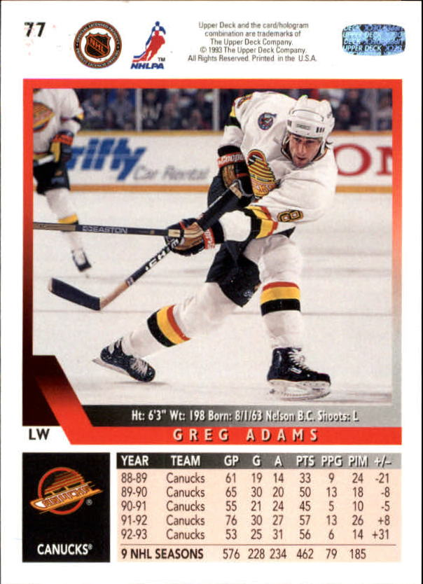 1993-94-Upper-Deck-Hk-039-s-1-250-Rookies-You-Pick-Buy-10-cards-FREE-SHIP thumbnail 71