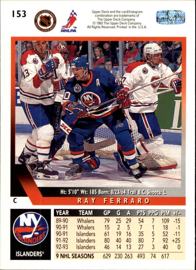 1993-94-Upper-Deck-Hk-039-s-1-250-Rookies-You-Pick-Buy-10-cards-FREE-SHIP thumbnail 121