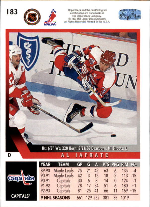 1993-94-Upper-Deck-Hk-039-s-1-250-Rookies-You-Pick-Buy-10-cards-FREE-SHIP thumbnail 151