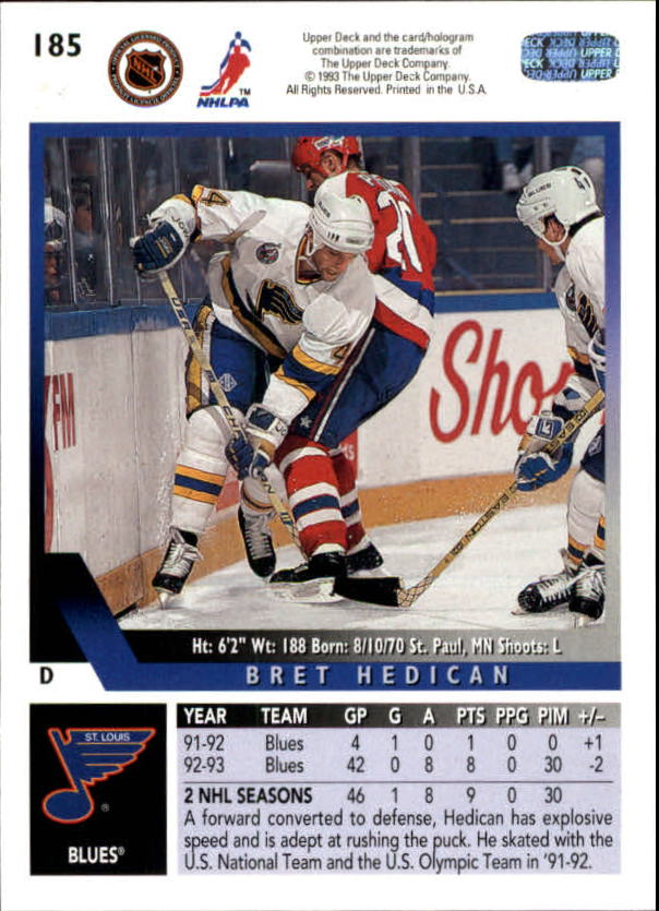 1993-94-Upper-Deck-Hk-039-s-1-250-Rookies-You-Pick-Buy-10-cards-FREE-SHIP thumbnail 153