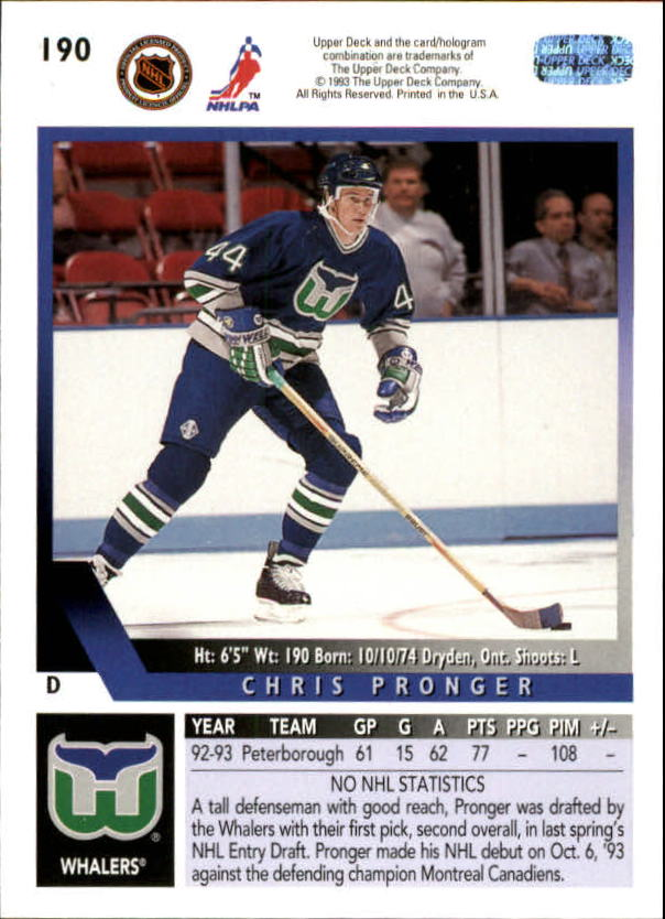 1993-94-Upper-Deck-Hk-039-s-1-250-Rookies-You-Pick-Buy-10-cards-FREE-SHIP thumbnail 159