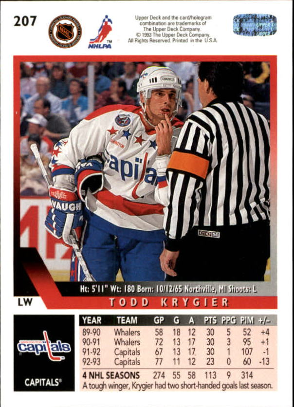 1993-94-Upper-Deck-Hk-039-s-1-250-Rookies-You-Pick-Buy-10-cards-FREE-SHIP thumbnail 181