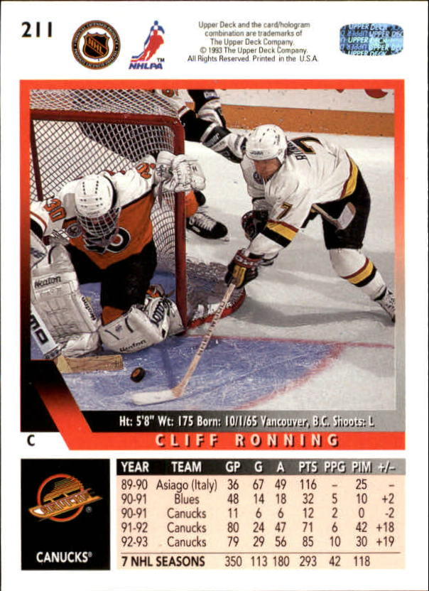1993-94-Upper-Deck-Hk-039-s-1-250-Rookies-You-Pick-Buy-10-cards-FREE-SHIP thumbnail 185