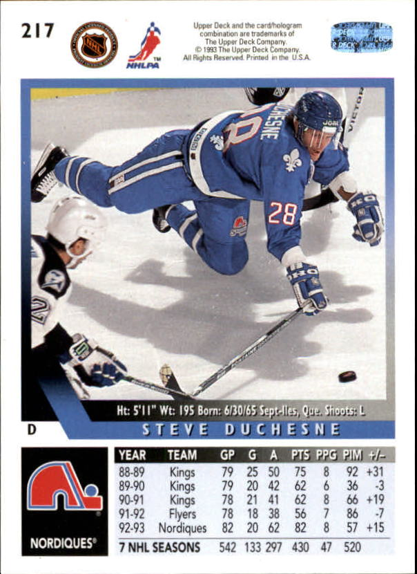 1993-94-Upper-Deck-Hk-039-s-1-250-Rookies-You-Pick-Buy-10-cards-FREE-SHIP thumbnail 195