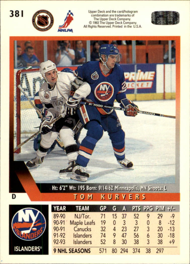 1993-94-Upper-Deck-Hk-039-s-251-500-Rookies-You-Pick-Buy-10-cards-FREE-SHIP thumbnail 219