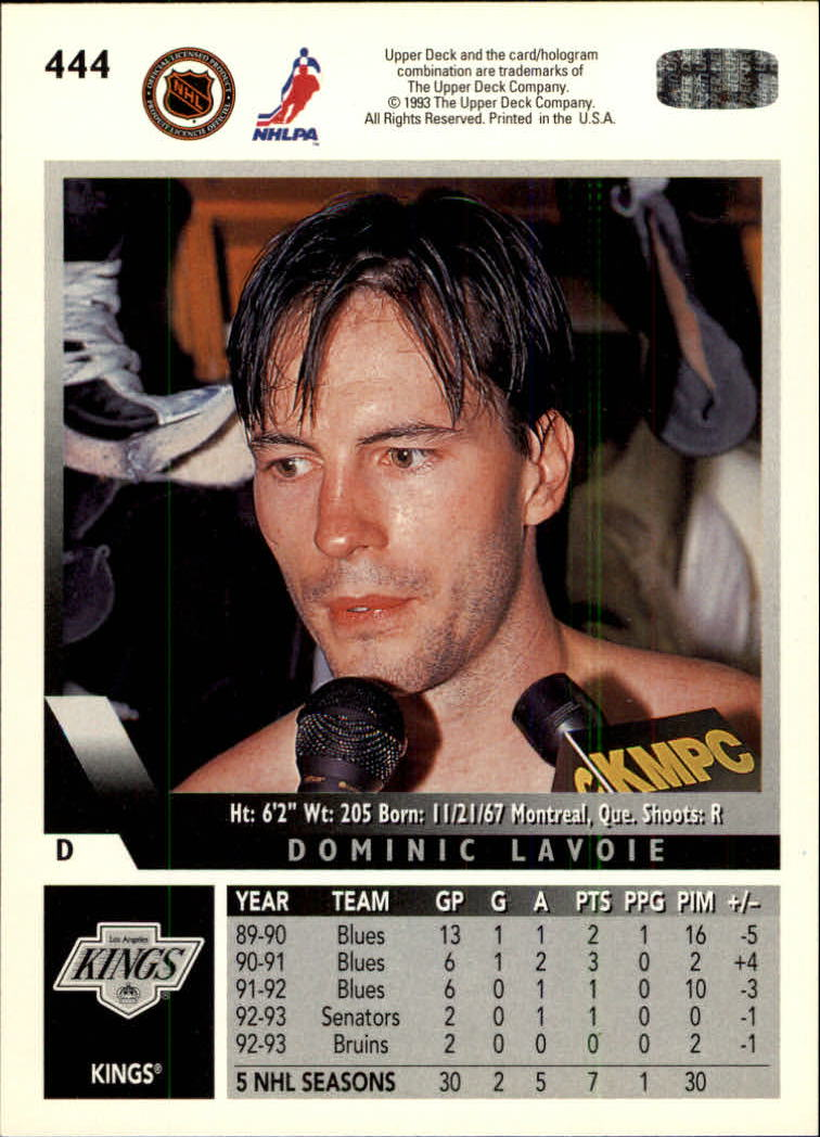 1993-94-Upper-Deck-Hk-039-s-251-500-Rookies-You-Pick-Buy-10-cards-FREE-SHIP thumbnail 335