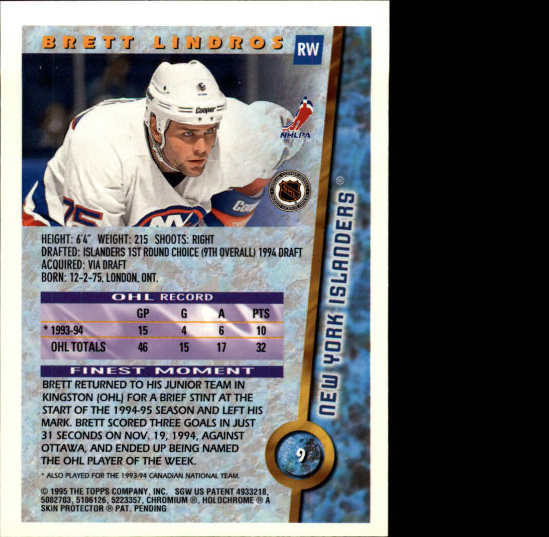 1994-95 Finest Hockey Cards 1-165 +Rookies (A2806)