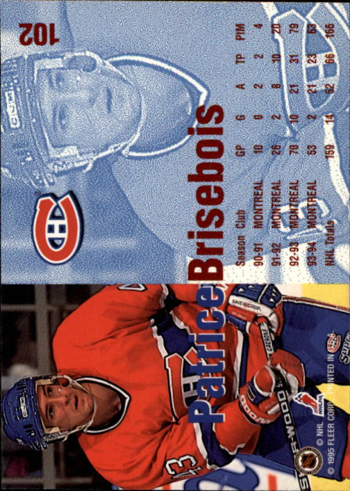 1994-95-Fleer-Hockey-s-1-250-Rookies-You-Pick-Buy-10-cards-FREE-SHIP thumbnail 133