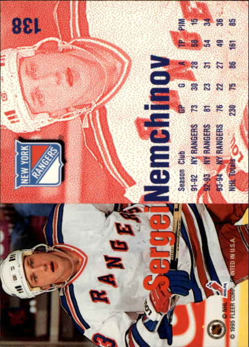 1994-95-Fleer-Hockey-s-1-250-Rookies-You-Pick-Buy-10-cards-FREE-SHIP thumbnail 185