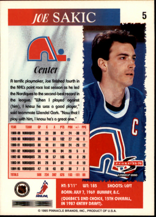1995-96-Score-Hockey-Card-s-1-250-Rookies-A1270-You-Pick-10-FREE-SHIP thumbnail 11