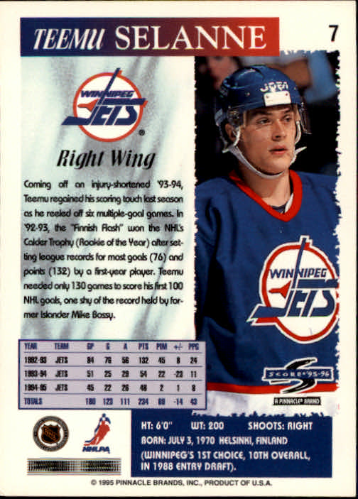 1995-96-Score-Hockey-Card-s-1-250-Rookies-A1270-You-Pick-10-FREE-SHIP thumbnail 15
