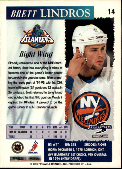 1995-96-Score-Hockey-Card-s-1-250-Rookies-A1270-You-Pick-10-FREE-SHIP thumbnail 29