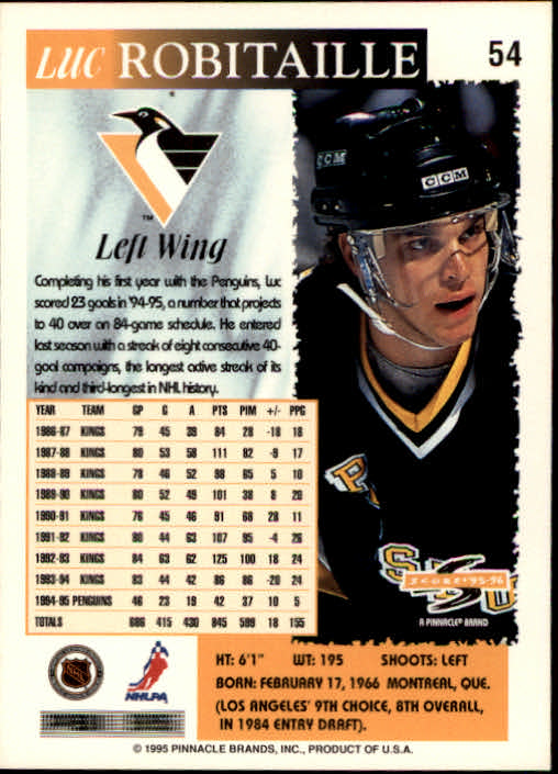 1995-96-Score-Hockey-Card-s-1-250-Rookies-A1270-You-Pick-10-FREE-SHIP thumbnail 107
