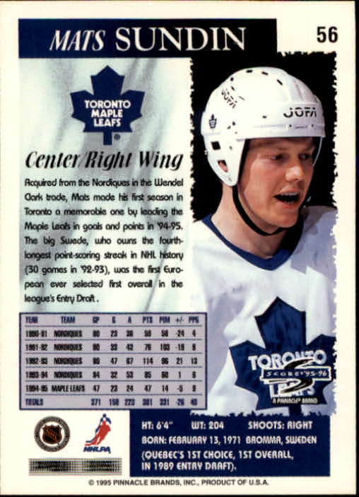 1995-96-Score-Hockey-Card-s-1-250-Rookies-A1270-You-Pick-10-FREE-SHIP thumbnail 111