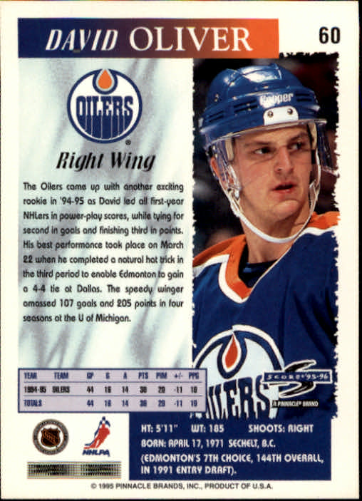 1995-96-Score-Hockey-Card-s-1-250-Rookies-A1270-You-Pick-10-FREE-SHIP thumbnail 117