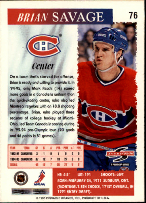 1995-96-Score-Hockey-Card-s-1-250-Rookies-A1270-You-Pick-10-FREE-SHIP thumbnail 145