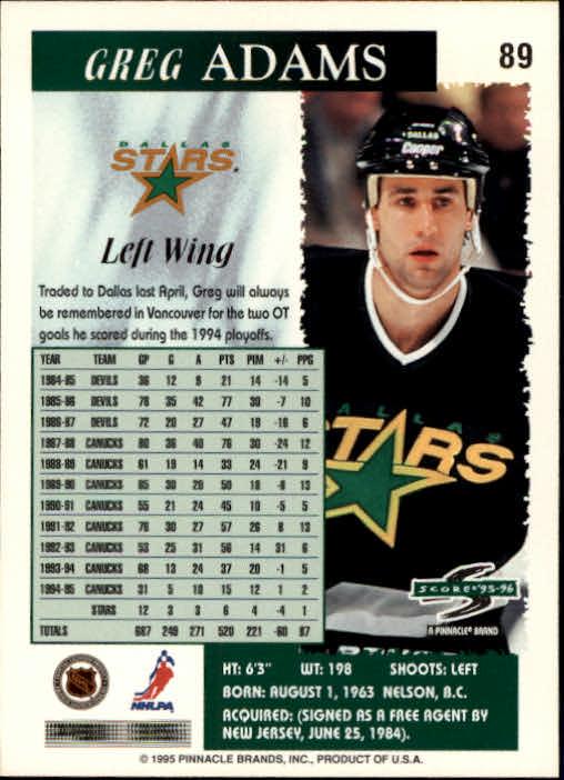 1995-96-Score-Hockey-Card-s-1-250-Rookies-A1270-You-Pick-10-FREE-SHIP thumbnail 171