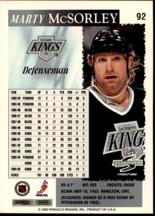 1995-96-Score-Hockey-Card-s-1-250-Rookies-A1270-You-Pick-10-FREE-SHIP thumbnail 177