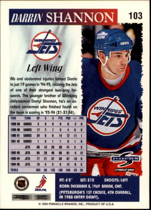 1995-96-Score-Hockey-Card-s-1-250-Rookies-A1270-You-Pick-10-FREE-SHIP thumbnail 199