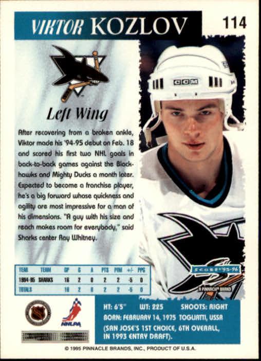 1995-96-Score-Hockey-Card-s-1-250-Rookies-A1270-You-Pick-10-FREE-SHIP thumbnail 221