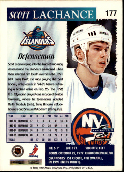 1995-96-Score-Hockey-Card-s-1-250-Rookies-A1270-You-Pick-10-FREE-SHIP thumbnail 347