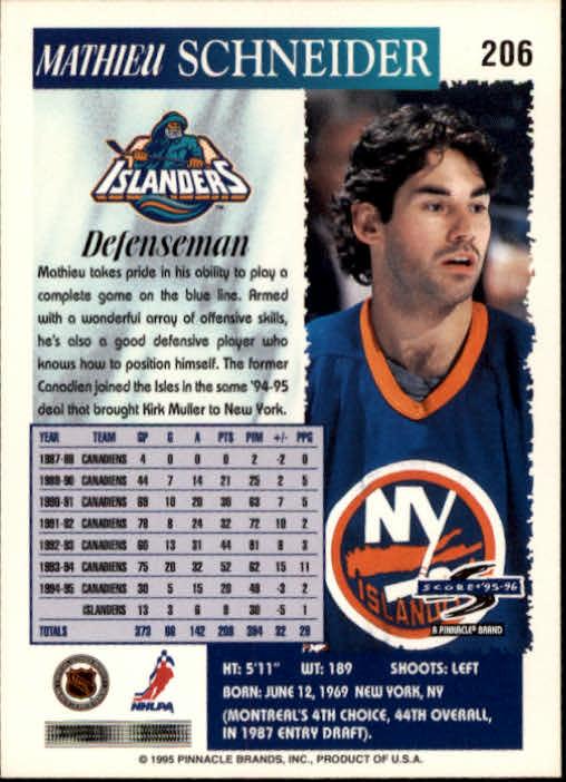1995-96-Score-Hockey-Card-s-1-250-Rookies-A1270-You-Pick-10-FREE-SHIP thumbnail 401