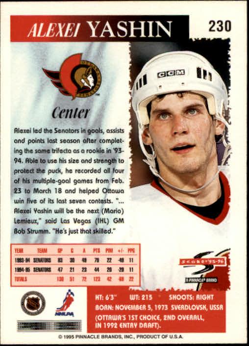 1995-96-Score-Hockey-Card-s-1-250-Rookies-A1270-You-Pick-10-FREE-SHIP thumbnail 449
