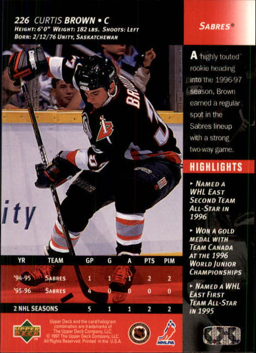 1996-97-Upper-Deck-Hk-Cards-201-390-Rookies-A2298-You-Pick-10-FREE-SHIP thumbnail 37