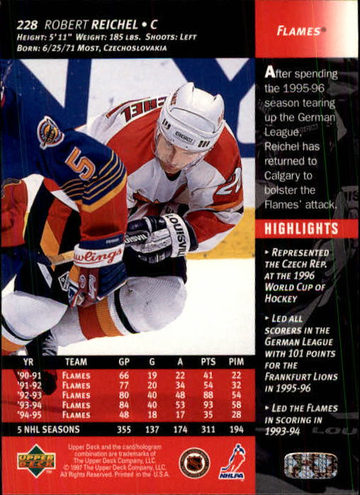 1996-97-Upper-Deck-Hk-Cards-201-390-Rookies-A2298-You-Pick-10-FREE-SHIP thumbnail 41