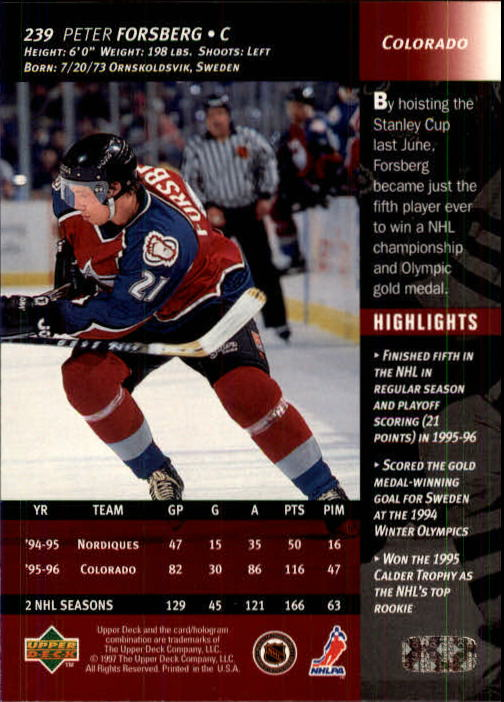 1996-97-Upper-Deck-Hk-Cards-201-390-Rookies-A2298-You-Pick-10-FREE-SHIP thumbnail 63