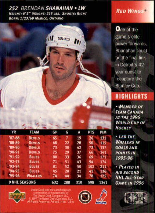 1996-97-Upper-Deck-Hk-Cards-201-390-Rookies-A2298-You-Pick-10-FREE-SHIP thumbnail 85