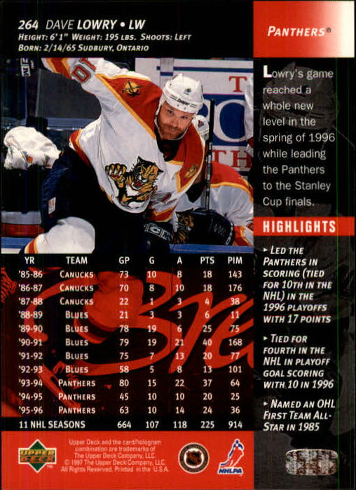 1996-97-Upper-Deck-Hk-Cards-201-390-Rookies-A2298-You-Pick-10-FREE-SHIP thumbnail 107
