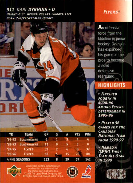 1996-97-Upper-Deck-Hk-Cards-201-390-Rookies-A2298-You-Pick-10-FREE-SHIP thumbnail 189