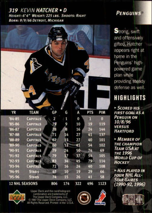 1996-97-Upper-Deck-Hk-Cards-201-390-Rookies-A2298-You-Pick-10-FREE-SHIP thumbnail 203