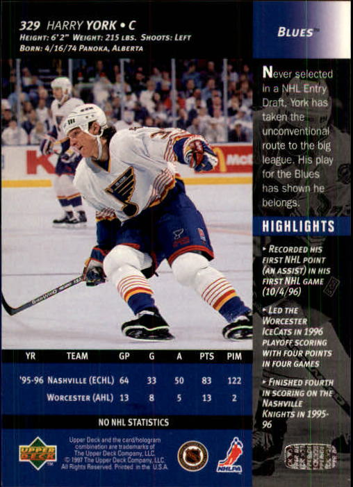 1996-97-Upper-Deck-Hk-Cards-201-390-Rookies-A2298-You-Pick-10-FREE-SHIP thumbnail 219