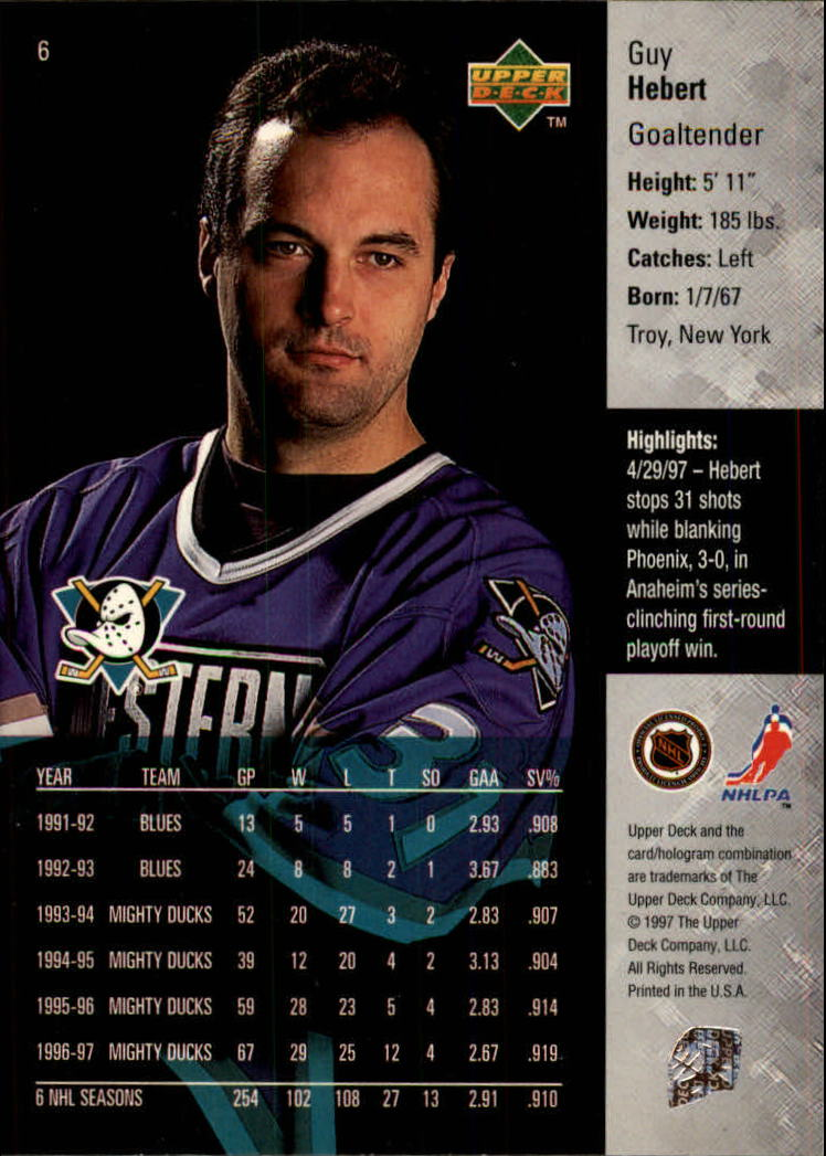 1997-98-Upper-Deck-Hk-Cards-1-195-Rookies-A4551-You-Pick-10-FREE-SHIP thumbnail 13