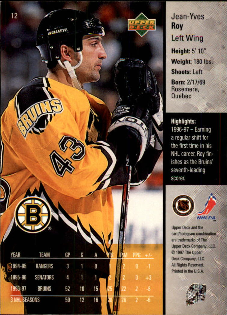 1997-98-Upper-Deck-Hk-Cards-1-195-Rookies-A4551-You-Pick-10-FREE-SHIP thumbnail 25
